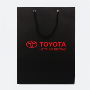 paper bag toyota