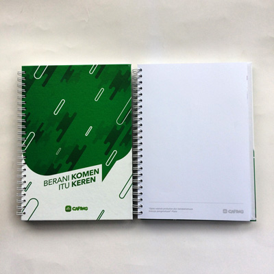notebook caping